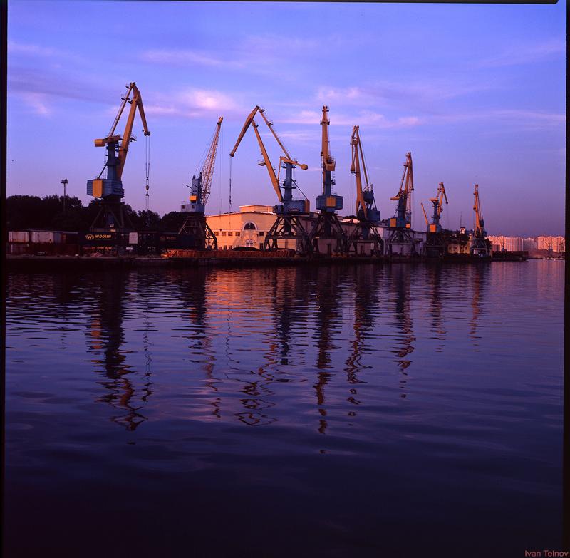 южный порт фото ночью обои, фото