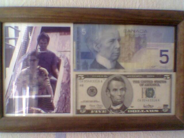 с этой фотки началась моя денежно-страная коллекция