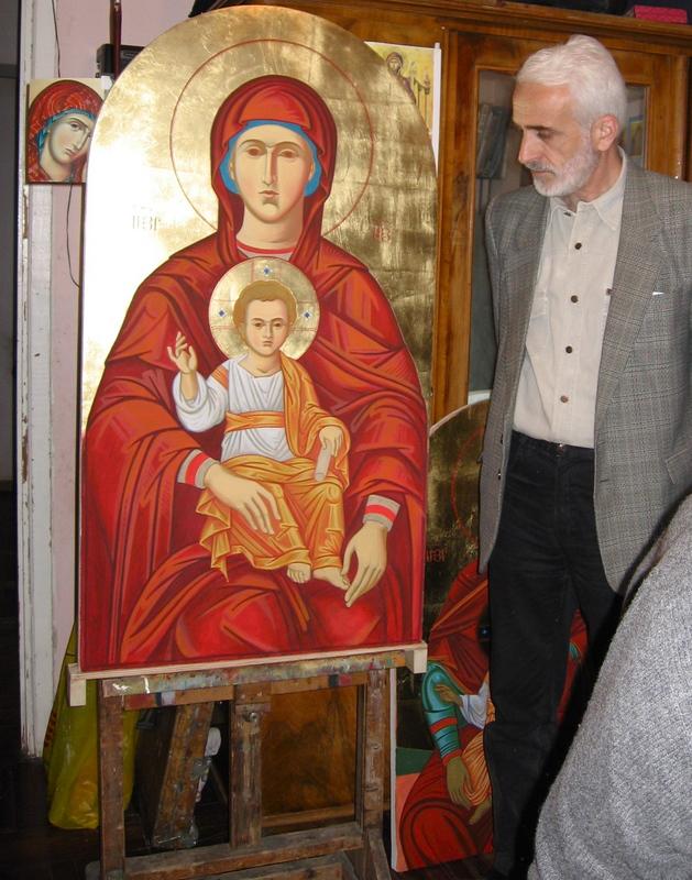 тот набор армянские иконы фото без