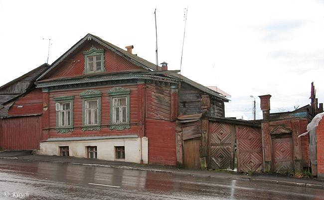 Старые деревянные дома калуги фото