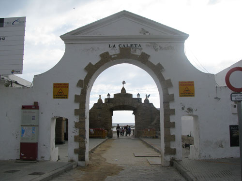 Cadiz - Playa de la Caleta
