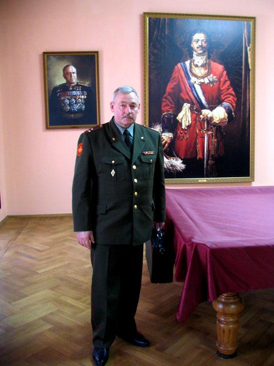 полковник Парсапин Вячеслав Николаевич
