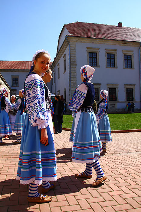 Українки у збаразькому замку