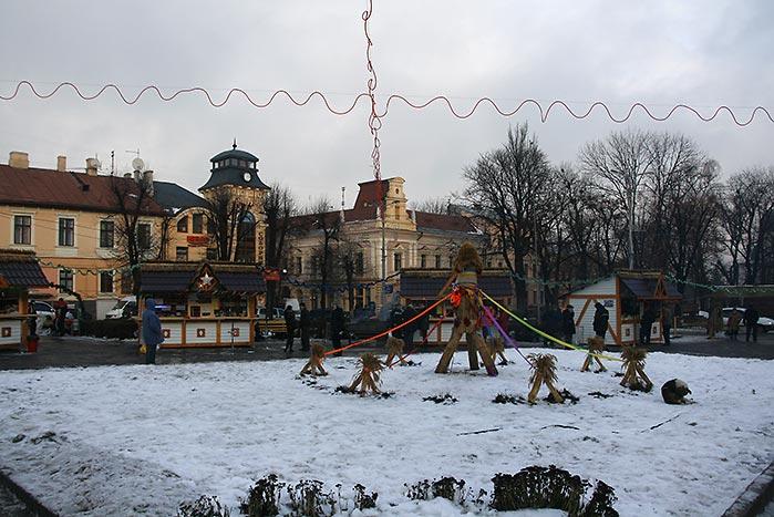 Новий рік в Чернівцях