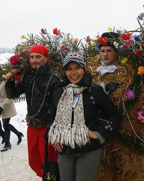 Маланка в Красноильске в 2010 г.