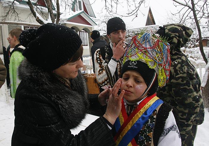 Маланка в Красноїльску в 2010 г.
