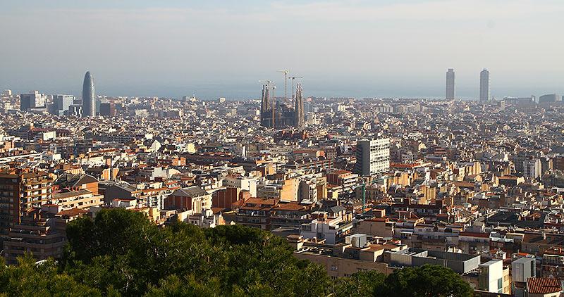 Барселона, панорама