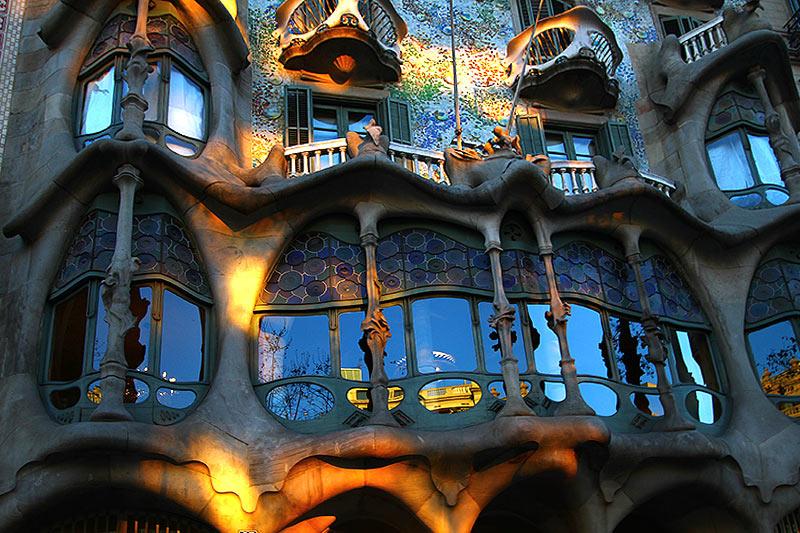 Дім Бальо Гауді, Барселона