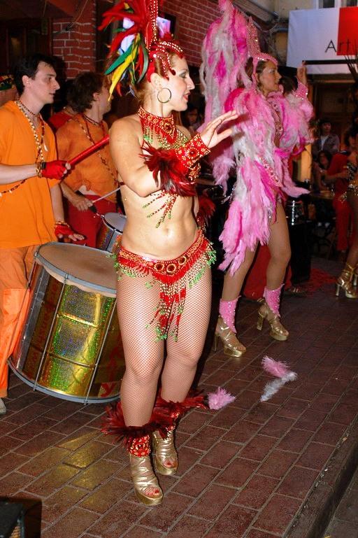 Карнавальные танцы -шоу Маракату