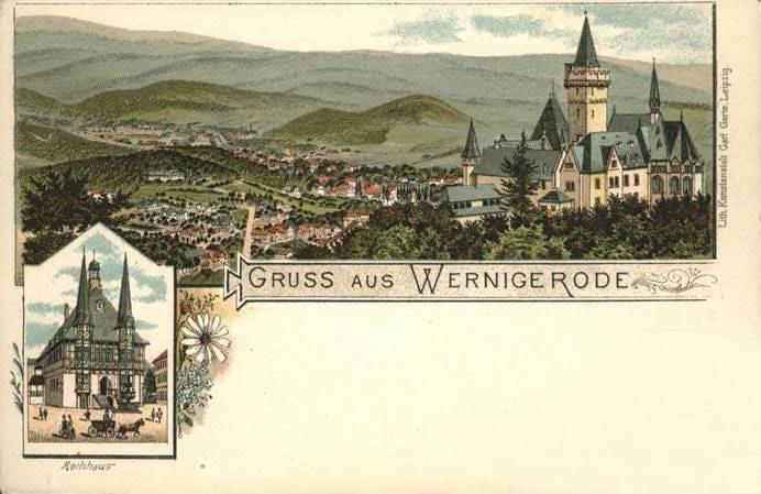 Вернігероде Wernigerode