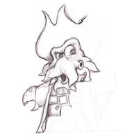 Davy Jones Sketch