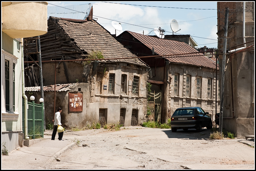 Улочки в Тбилиси
