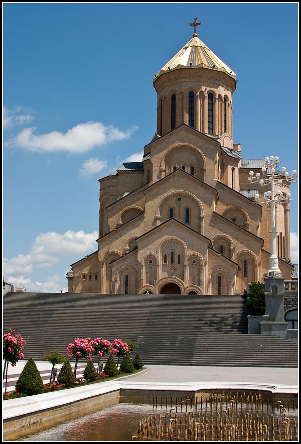 Собор Святой Троицы в Тбилиси (Цминда Самеба)