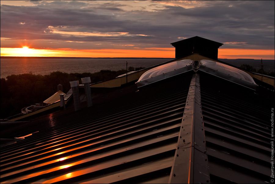 Крыша Музыкального театра