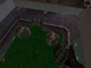 radiation pool from Half-Life Red Alert