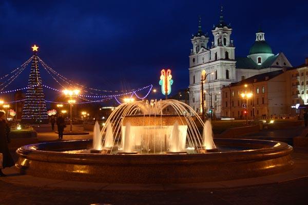 площадь советская фонтан гродно фото правила кормления