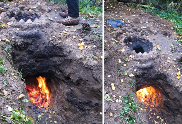 печь для обжига глины