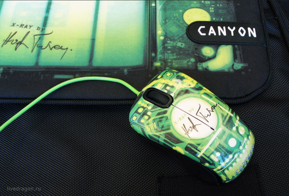 Мышка Canyon X-Ray (CNL-MSO07X) от Хью Терви