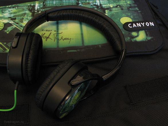Наушники Canyon X-Ray (CNL-HP03X) от Хью Терви