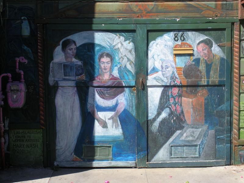 2 sf murals