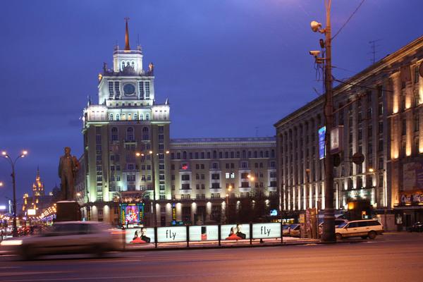 Триумфальная площадь, Венедиктов, Митинги