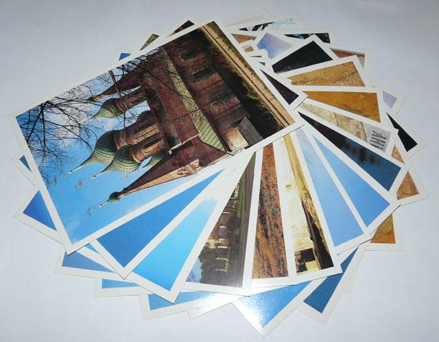 Как продать набор открыток