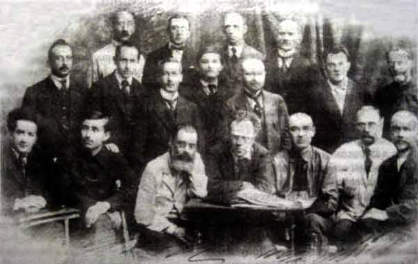 Первые профессора БГУ