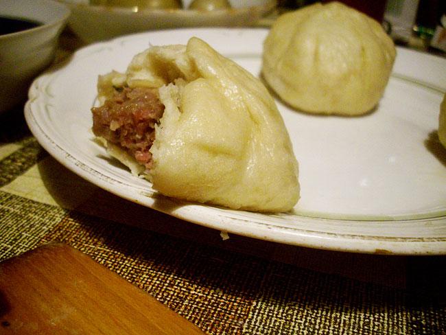 японские пирожки с мясом