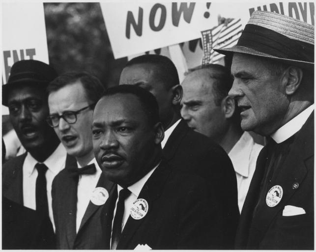Мартин Лютер Кинг об «умеренных белых».