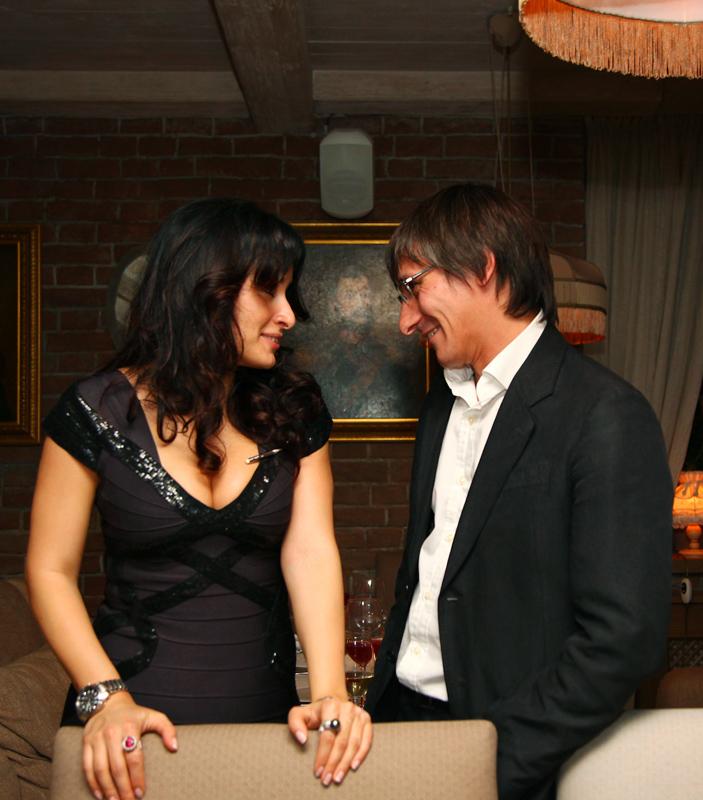 Тина Канделаки и Михаил Фишман