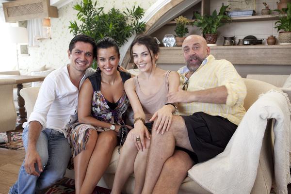 Тина Канделаки с друзьями
