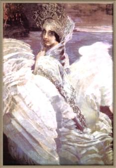 """Михаил Врубель. """"Царевна - лебедь"""". 1900"""