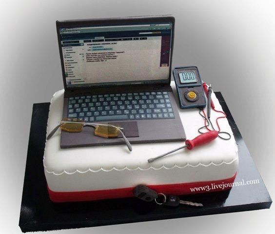 торт для программиста фото из мастики стоит говорить, что