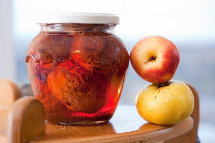 Печеные яблоки на зиму
