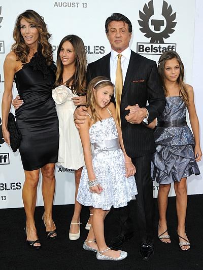 фото дольф лундгрен с семьей